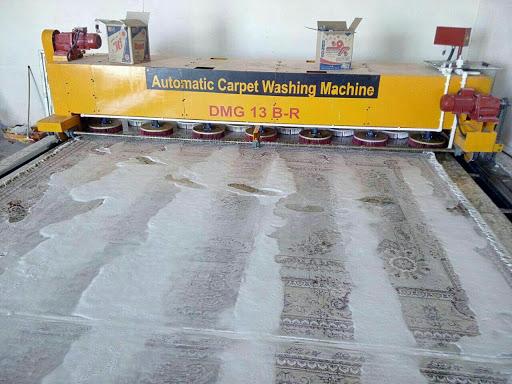 مجهز ترین قالیشویی در مهرشهر